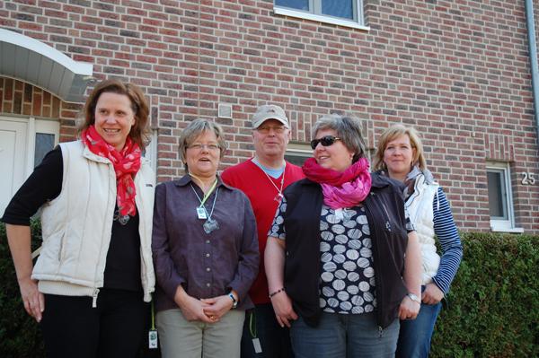 Team Kohl Frühjahr 2014 Barbara H., Susanne E., Hubert N., Dani Ela N., Petra B.