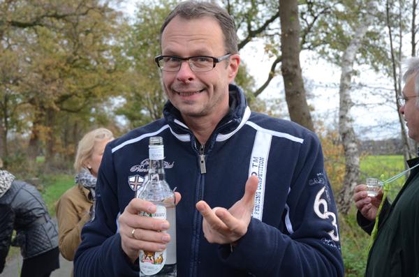 Henning geizt nicht mit Wacholder