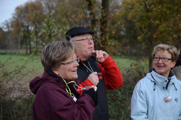 Susanne, Hubert und Eva freuen sich über das nächste Schött