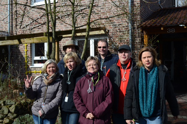 Team Pinkel: Elke L., Jörg H., Petra B., Susanne E., Henning M., Hubert N., Barbara H. (Königin)
