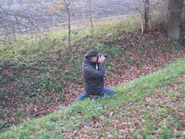 Andreas E., der Haus- und Hof-Fotograf in Action